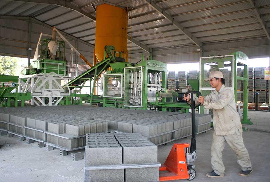 Gạch không nung tại Đô Lương